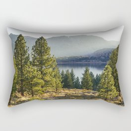 Beautiful landscape in California Rectangular Pillow