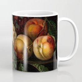 "Ernst Stuven ""Still-life with peaches"" Coffee Mug"