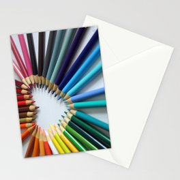 A Heartful of Pencils Stationery Cards
