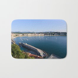La Concha Bay. Donostia-San Sebastian, Spain. Bath Mat