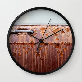 Rusted Jalopy Wall Clock