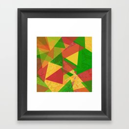 Through The Colors Framed Art Print