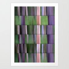 Bushland Abstract Art Print