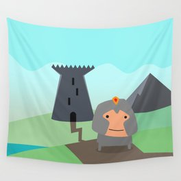 Shining Knights - The Warrior Wall Tapestry