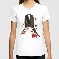 smoking T-shirts featuring Smoking kills! by Bojan Bundalo