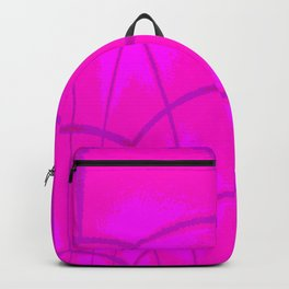 Glass dome on evening Backpack