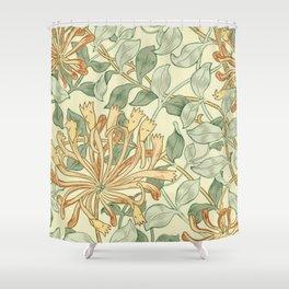 """William Morris """"Honeysuckle"""" 3. Shower Curtain"""