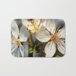Flowering Plum Bath Mat