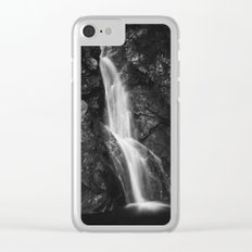 Waterfall in Hell Gorge, Slovenia Clear iPhone Case