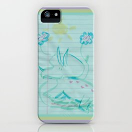 I Love You Just The Way You Are iPhone Case
