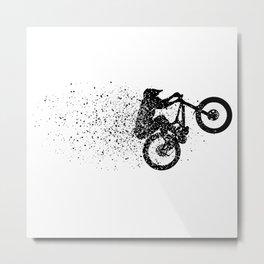 Ink Manual Metal Print