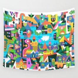 Neighbourhood 2 Wall Tapestry