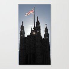 Good Morning, London Canvas Print