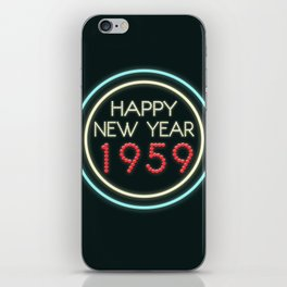 Happy New Year 1959! iPhone Skin