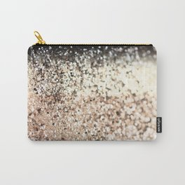 Sparkling GOLD Lady Glitter #2 #decor #art #society6 Carry-All Pouch