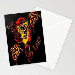 Leo Astrology Sign Stationery Cards