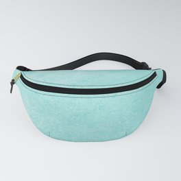 Pastel Teal Blue Grunge Ombre Pastel Texture Vintage Style Fanny Pack