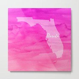 Sweet Home Florida Metal Print