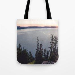 Lakeside Sunrise Tote Bag