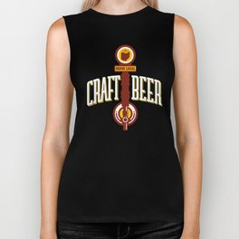 Iowa Drink Local gift Gift for IA Craft Beer Drinkers, Drink Local, Brewing Gift for Brewers and Biker Tank