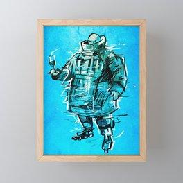 FATMAN mgs Framed Mini Art Print