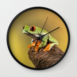 Are You Sitting Comfortably Wall Clock