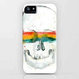 The Anonymity of Existence iPhone Case