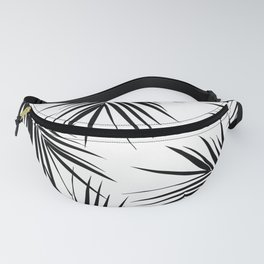 Palm Leaves Cali Finesse #3 #BlackWhite #tropical #decor #art #society6 Fanny Pack