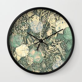 Fossil Abstract Wall Clock