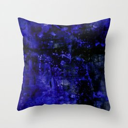 Voices Of The Night No.1b by Kathy Morton Stanion Throw Pillow