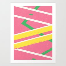 Hoverboard Art Print