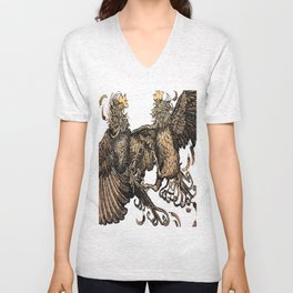 Two Kings - Roosters Unisex V-Neck