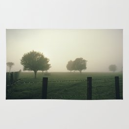 Misty Morning in the Waikato King Country Rug