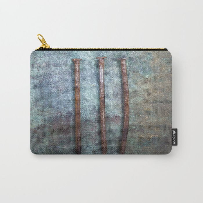 Three Nails Carry-All Pouch