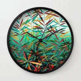 Aquatic Plants Wall Clock