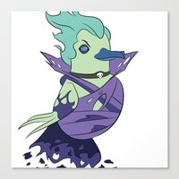 dota Canvas Prints featuring DotA 2: Death Prophet by Birbles