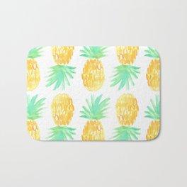Salty Pineapple Bath Mat