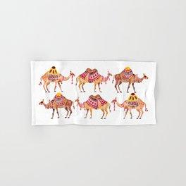 Camel Train Hand & Bath Towel