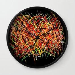 Rayas Wall Clock