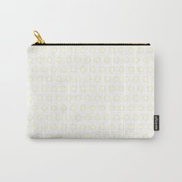 EMPTY DOT ((sunshine yellow)) Carry-All Pouch