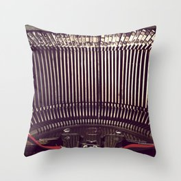 Inner Workings Of The Smith-Corona Throw Pillow
