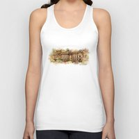 theatre Tank Tops featuring Slowacki Theatre, Cracow by jbjart