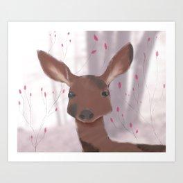 Dream Deer  Art Print