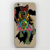 warcraft iPhone & iPod Skins featuring Druid by Electra Vasiliadi