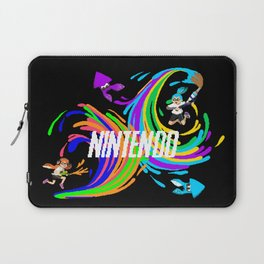 Pixel Splatoon Laptop Sleeve