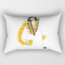 Golden Sand Rectangular Pillow