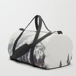 Storm in the Mountain Forest - Nature Photography Duffle Bag