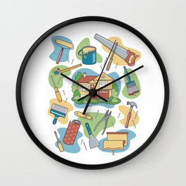 Home Improvement Wall Clock