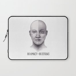 Our Humanity > Our Differences Laptop Sleeve