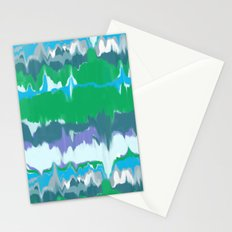 Marbled in jewel Stationery Cards